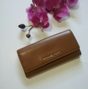 Michael Kors Trifold Soft Leather Wallet